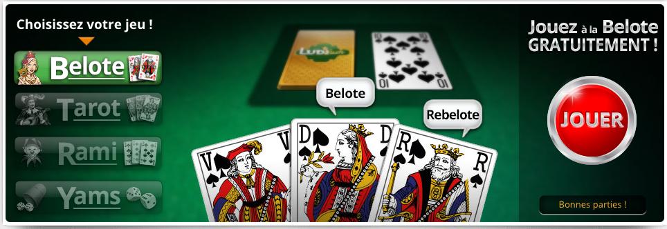 Jouer à la belote en ligne